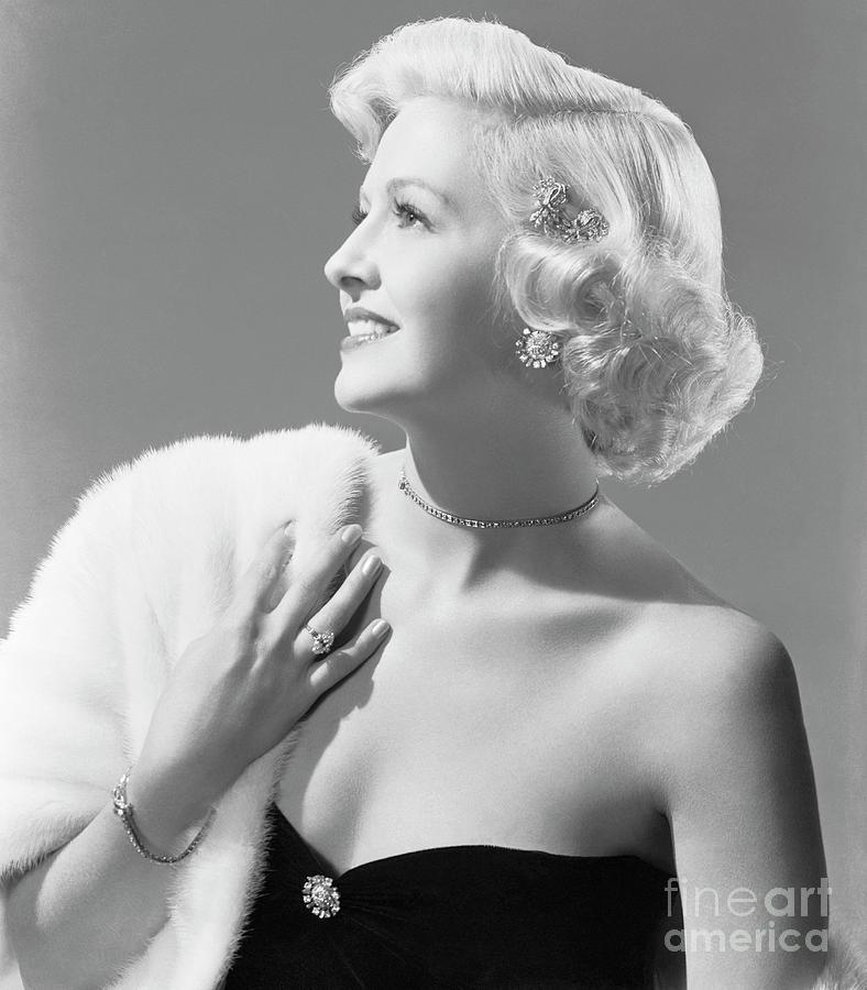 Marilyn Maxwell Photograph by Bettmann