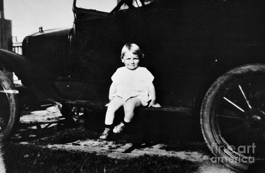 Marilyn Monroe As A Toddler Photograph by Bettmann