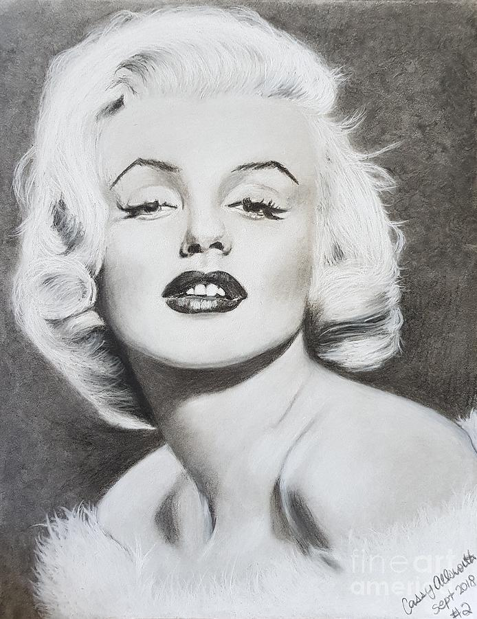 Marilyn Monroe  by Cassy Allsworth