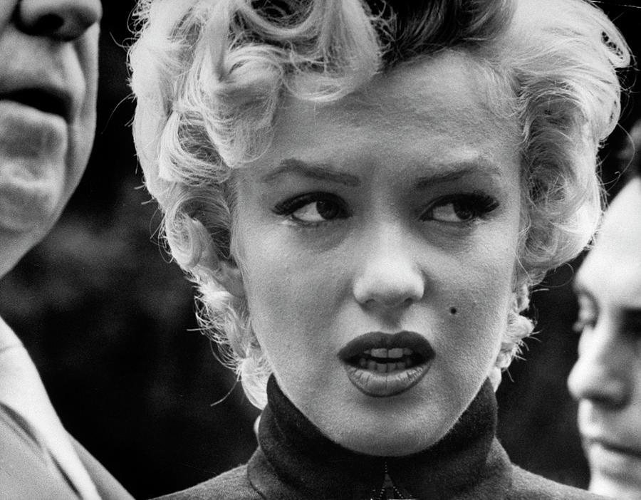 Marilyn Monroe Photograph by George Silk