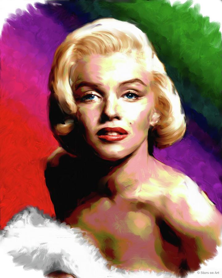 Marilyn Monroe Painting Painting