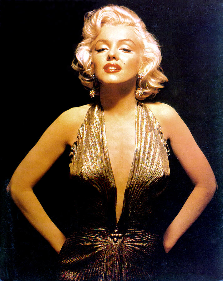Marilyn Monroe Portrait Photograph by Michael Ochs Archives