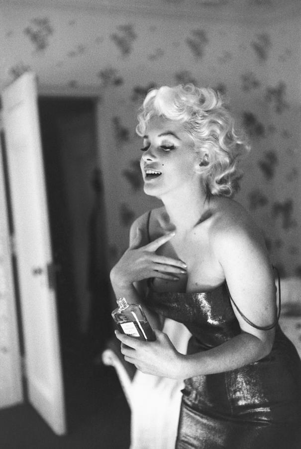 Marilyn Monroe With Chanel No. 5 Photograph by Michael Ochs Archives