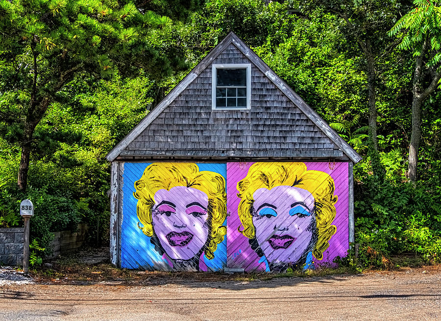 Marilyn On The Cape by Tom Singleton