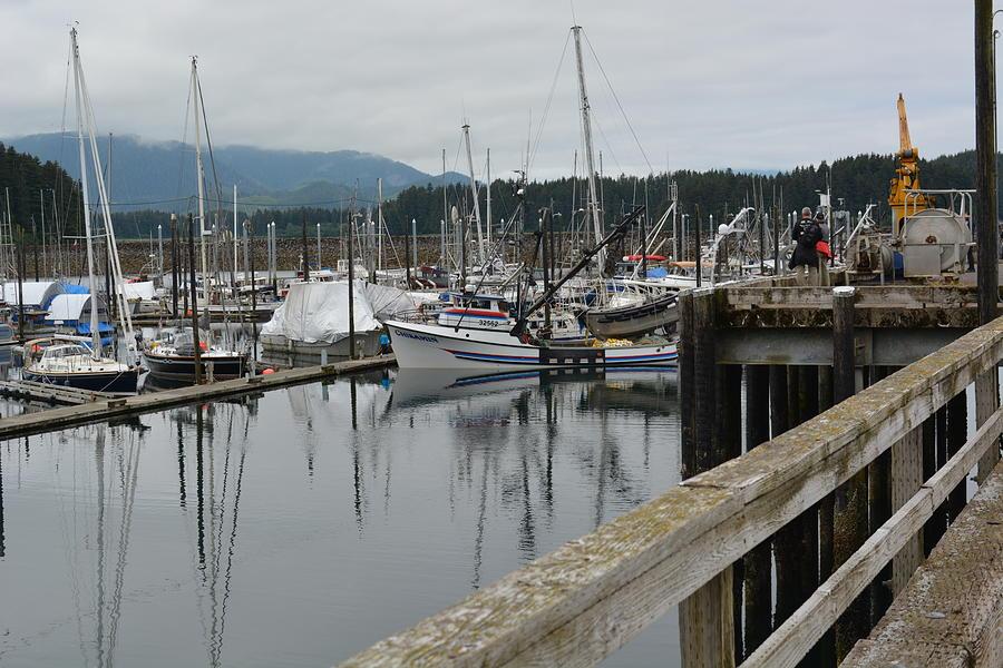 Marina at Icy Strait Point by Joe Smiga