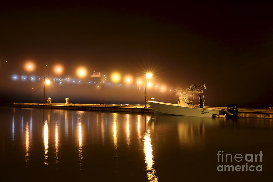 Marina at Night by Rachel Morrison
