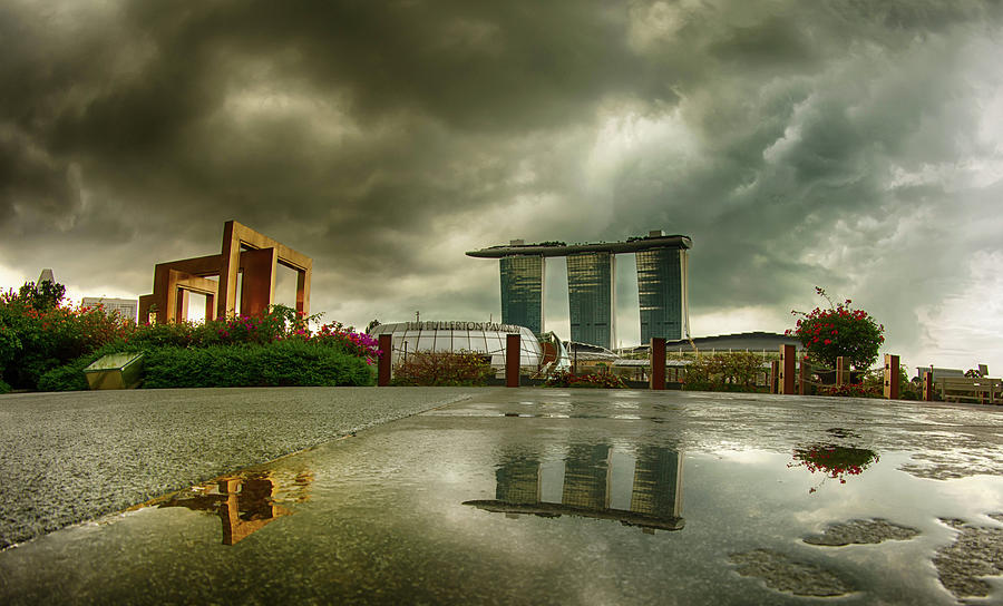 Marina Bay Sands Hotel by Chris Cousins