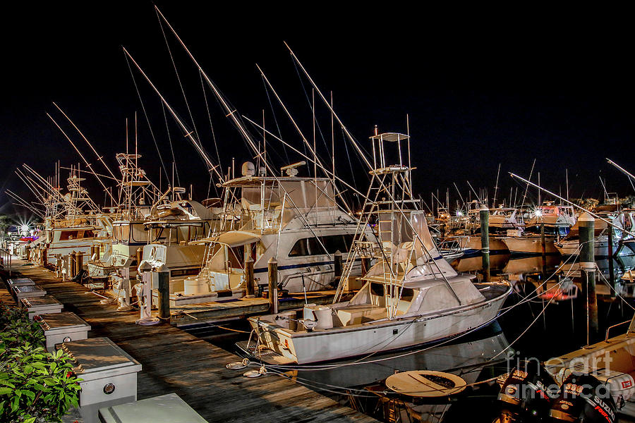 Marina Fishing Boats by Tom Claud