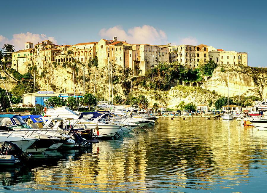 Marina In Tropea, Italy Photograph