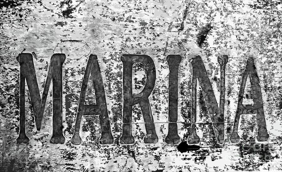 Marina Sign 300 Painting
