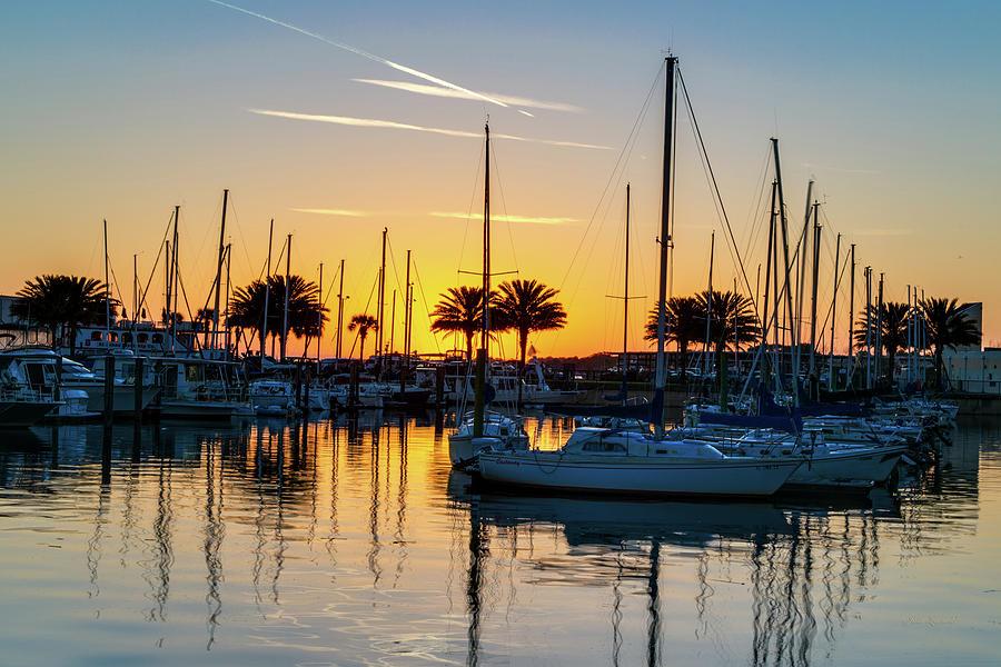 Marina Sunrise-1 by John Zawacki
