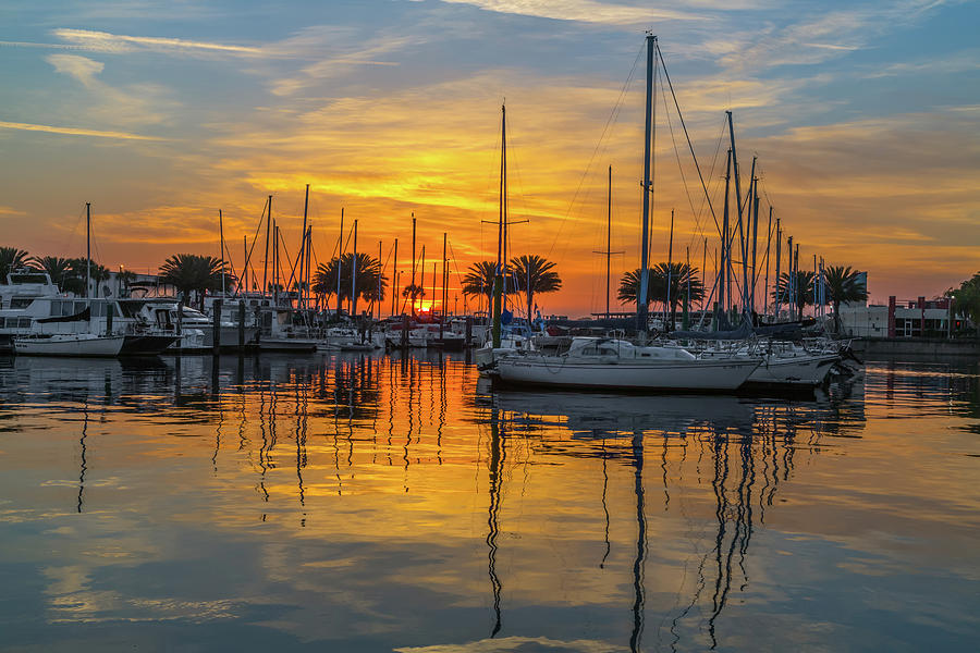 Marina Sunrise-2 by John Zawacki