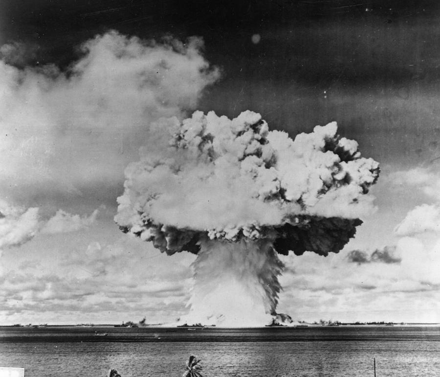 Marine Explosion Photograph by Keystone