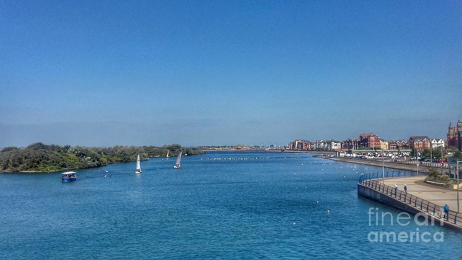 Marine Lake View Southport 2 by Joan-Violet Stretch