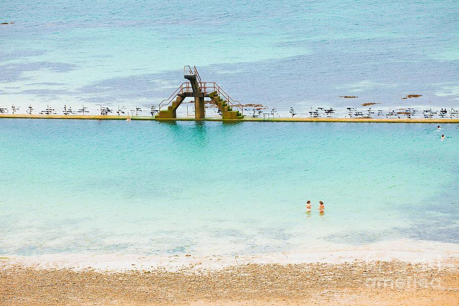 Marine Photograph - Marine Swimming Pool From Sain-malo by Jose Ignacio Soto