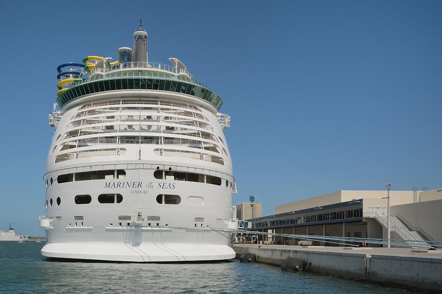 Mariner Of The Seas At Port Canaveral by Bradford Martin