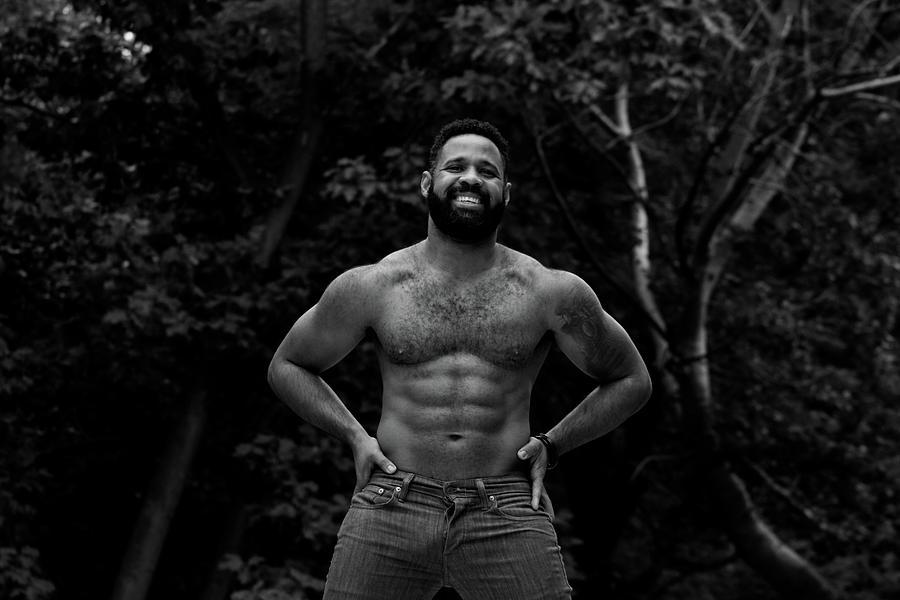 Dominicans Photograph - Mario in Harlem by AJ Paris