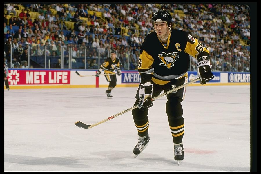 Mario Lemieux Photograph by Getty Images