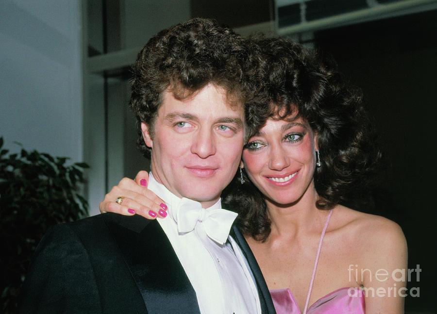 Marisa Berenson With Husband Photograph by Bettmann