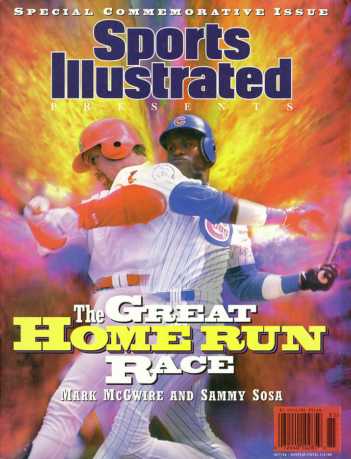 Mark Mcgwire And Sammy Sosa The Great Home Run Race Sports Illustrated Cover Photograph by Sports Illustrated