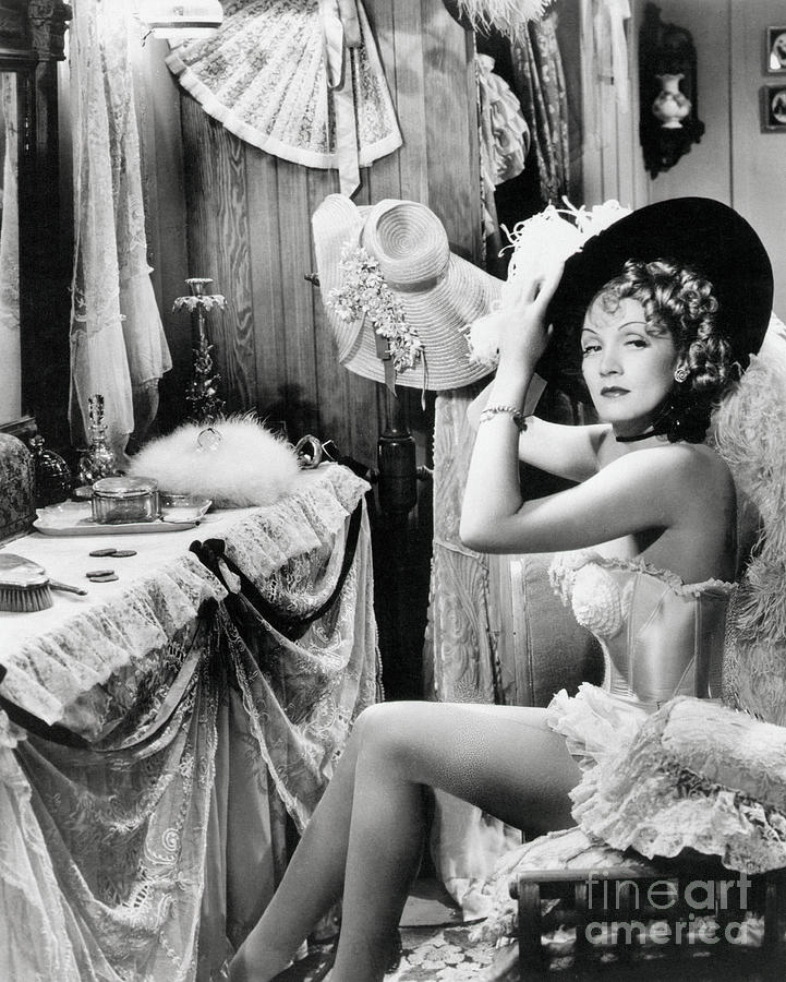 Marlene Dietrich In Destry Rides Photograph by Bettmann