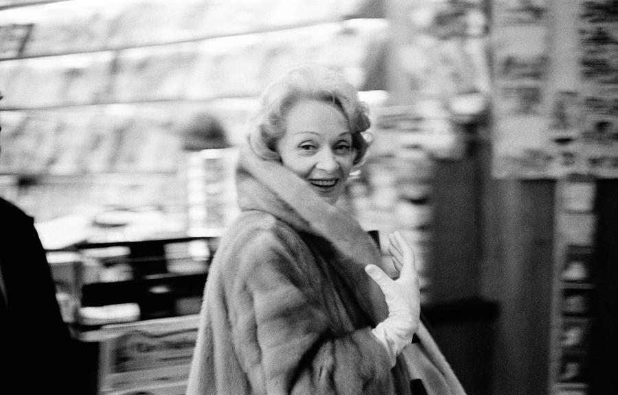 Marlene Dietrich In Paris Photograph by Giancarlo Botti