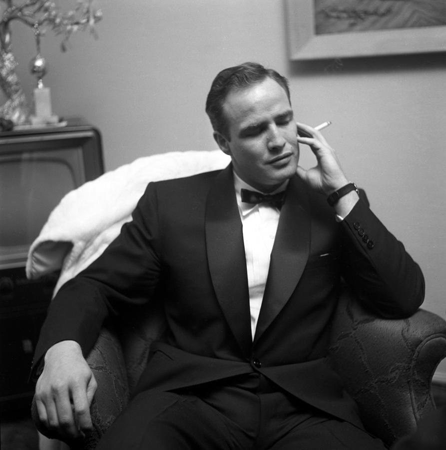 Marlon Brando At A Party Photograph by Michael Ochs Archives