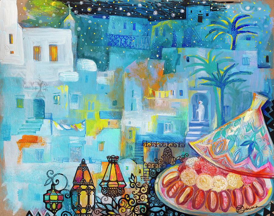 Maroco Painting - Maroco by Oxana Zaika