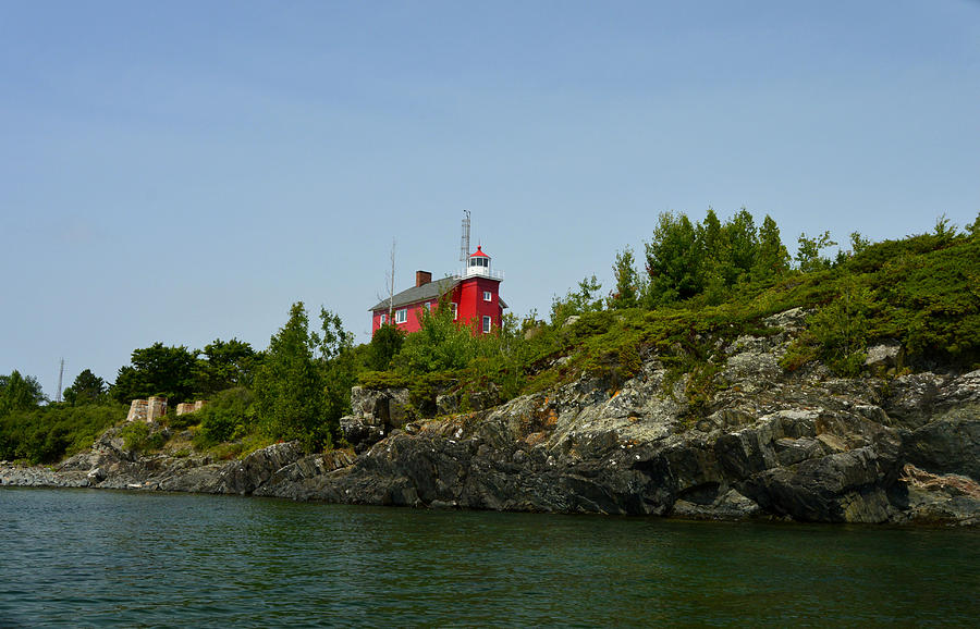 Marquette Michigan Lighthouse Photograph