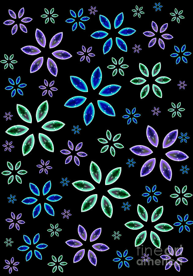 Marquise Floral 2 by Rachel Hannah