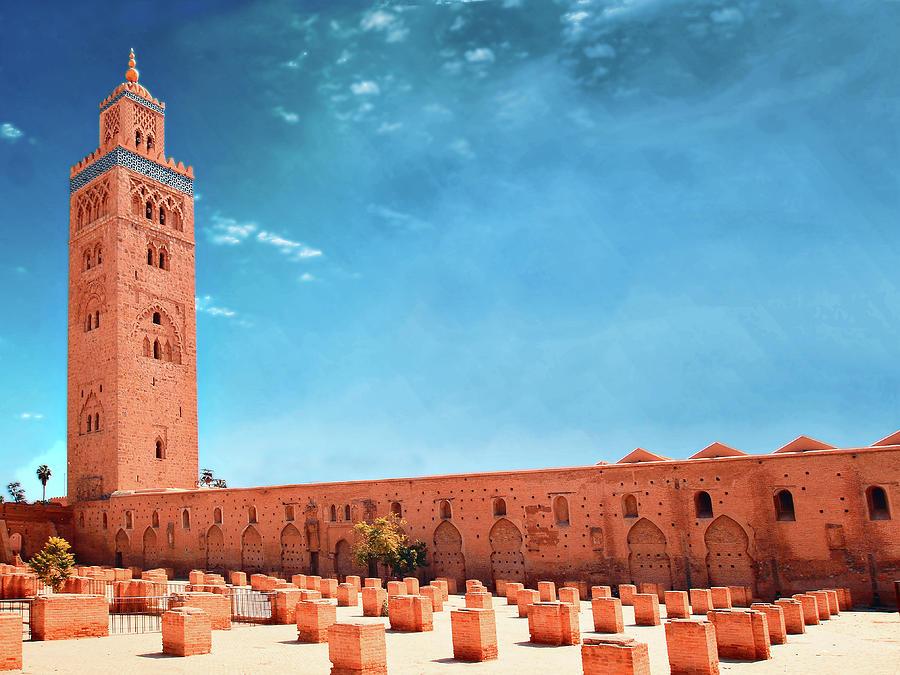 Marrakech, Koutoubia Mosque Photograph by Alberto Manuel Urosa Toledano