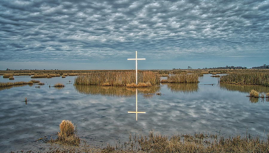 Marsh Cross by Jerry Gammon