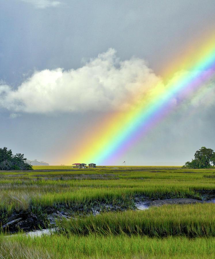 Marsh Rainbow by Kenny Nobles