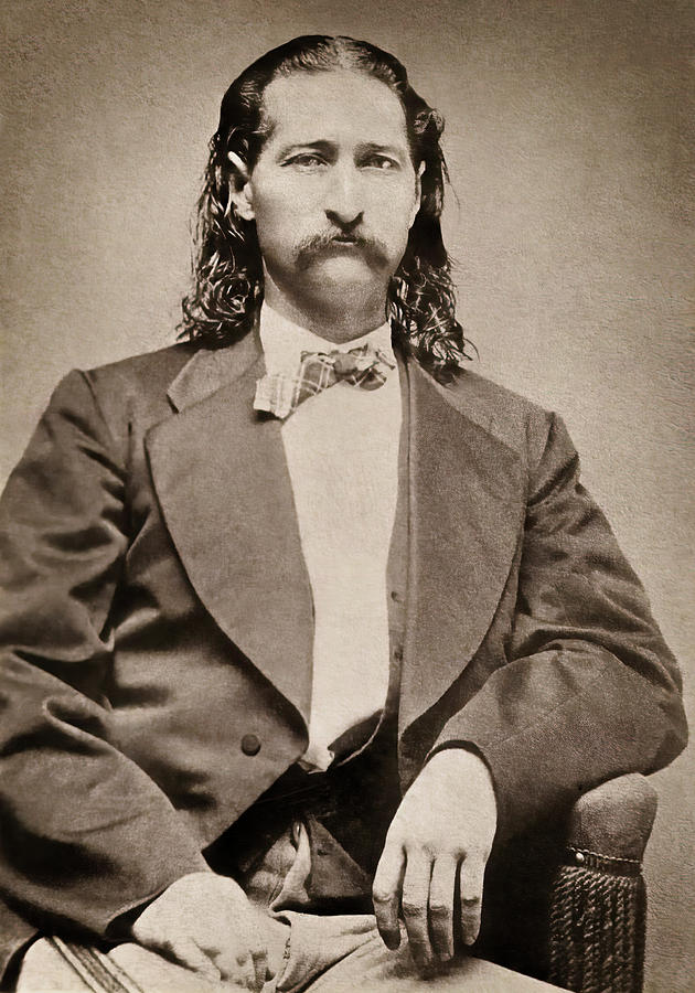 Hickok Photograph - Marshal James Butler Hickok - Abilene C. 1871 by Daniel Hagerman