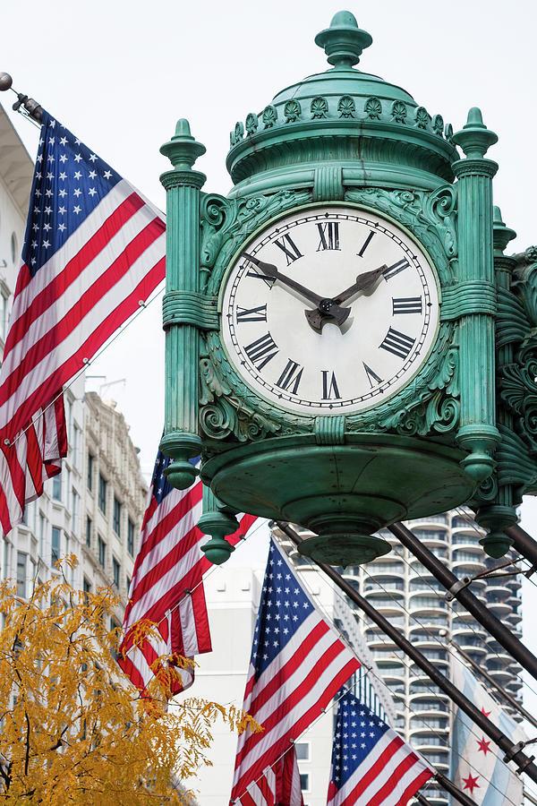 Marshall Field's Great Clock by Patty Colabuono