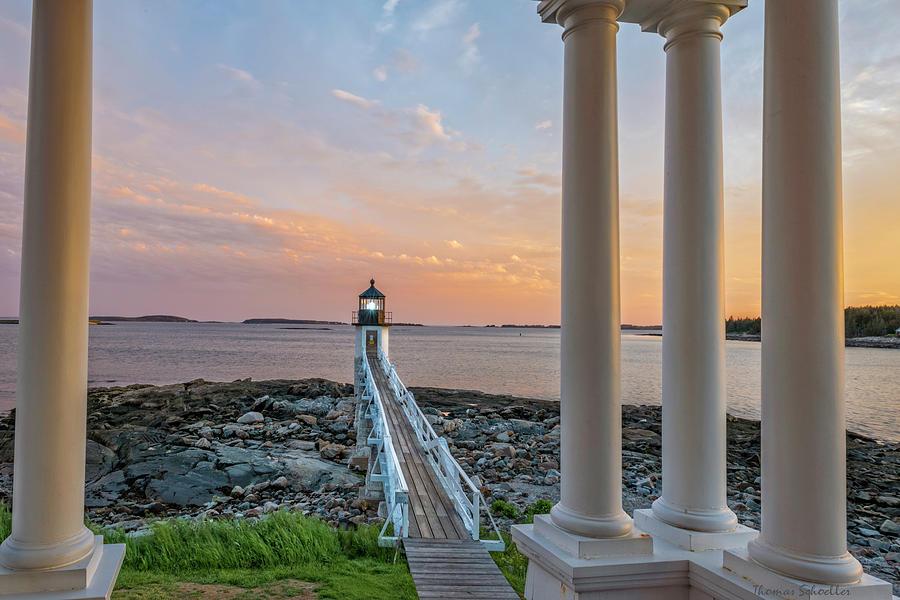 Marshall Point Beacon by T-S Photo Art