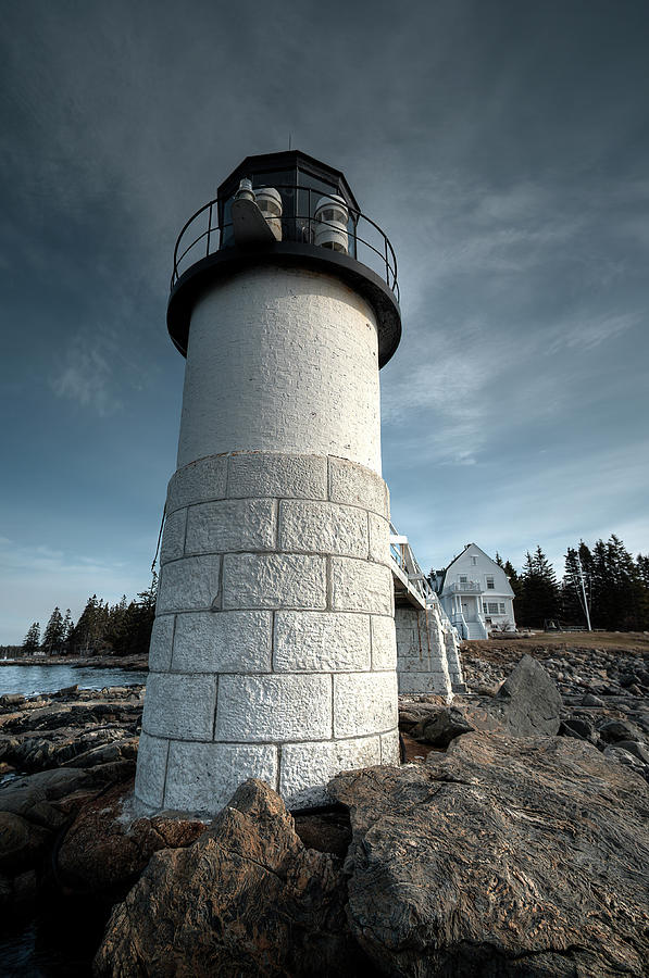 Marshall Point Light by Patrick Groleau