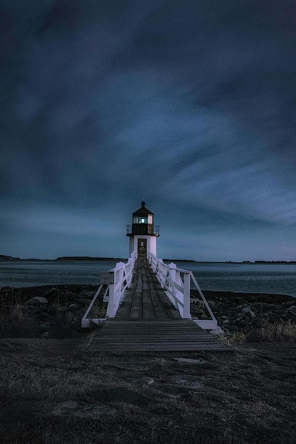 Marshall Point Light  by Robert Fawcett