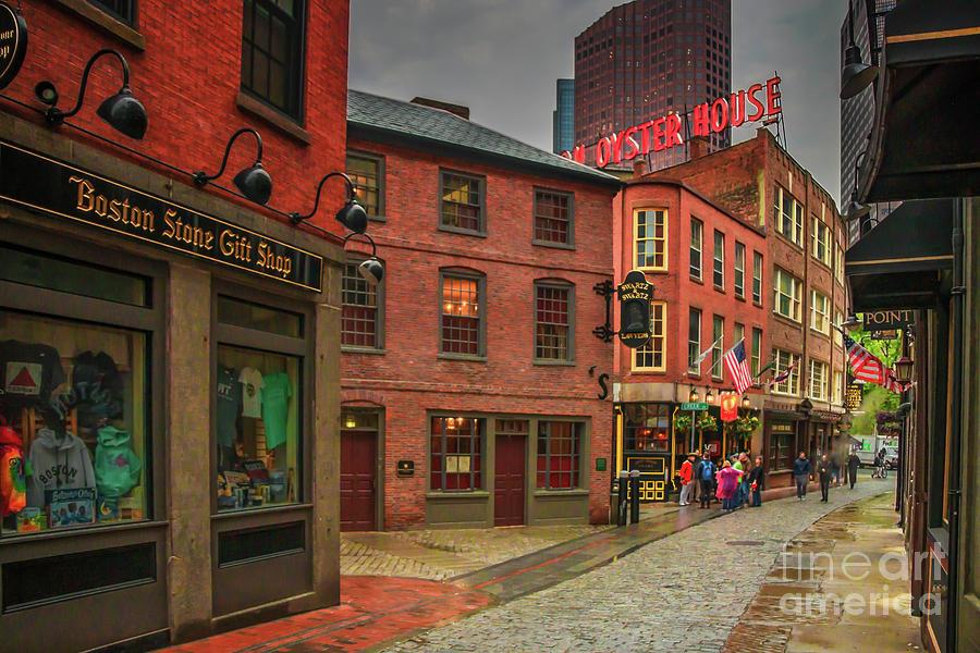 Marshall Street Boston Photograph