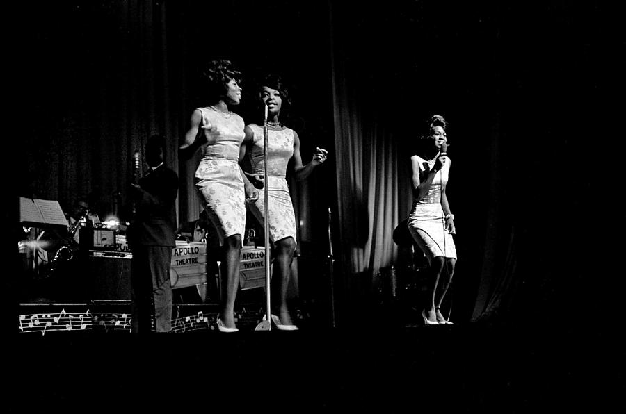 Martha And The Vandellas At The Apollo Photograph by Michael Ochs Archives