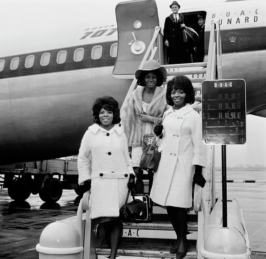 Martha And The Vandellas Photograph by Evening Standard
