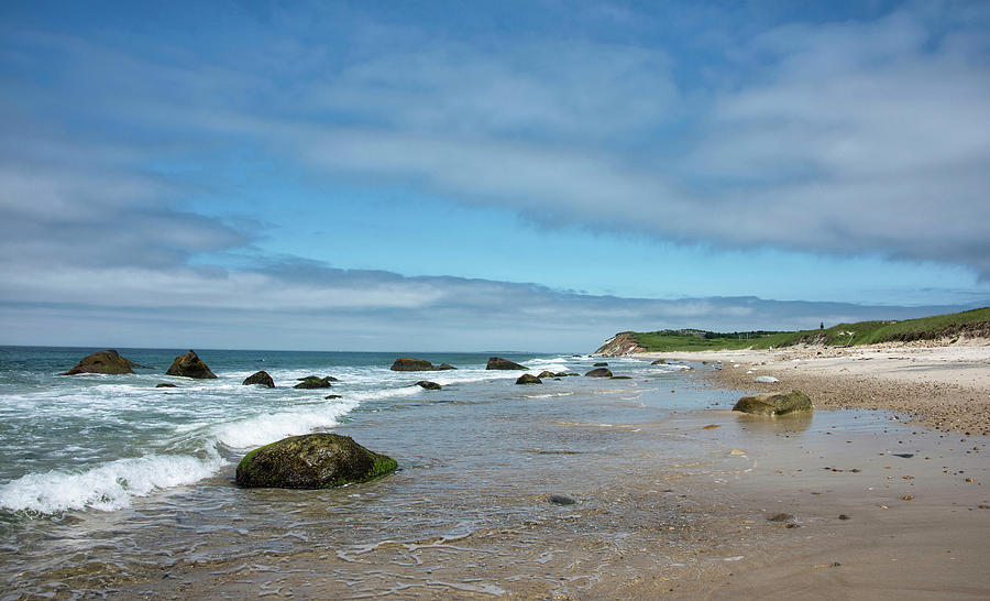 Martha's Vineyard Photograph - Marthas Vineyard - Moshup And Aquinnah Beaches by Brendan Reals