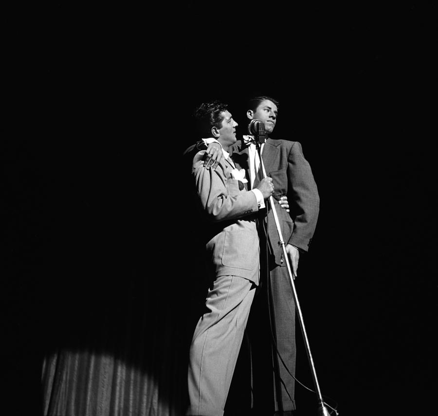 Martin And Lewis At The Paramount Photograph by Donaldson Collection