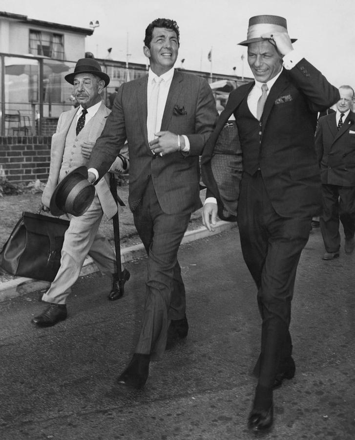 Martin And Sinatra Photograph by J. Wilds