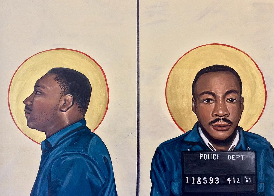 Martin Luther King Jr.  by Kelly Latimore