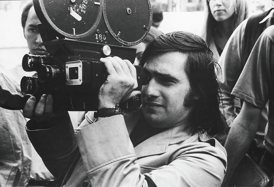 Martin Scorsese Behind The Camera Photograph by Fred W. McDarrah