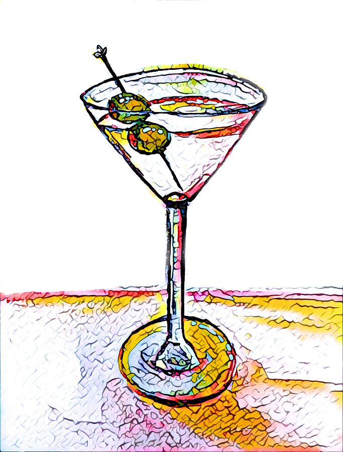 Martini Anyone 5 by Vanessa Katz