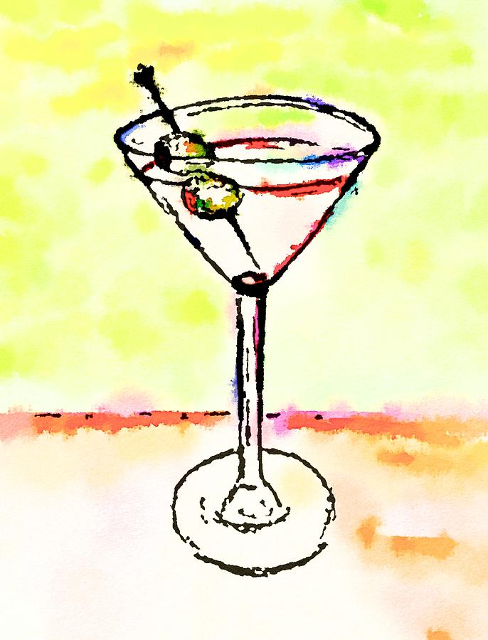 Martini Anyone 6 by Vanessa Katz