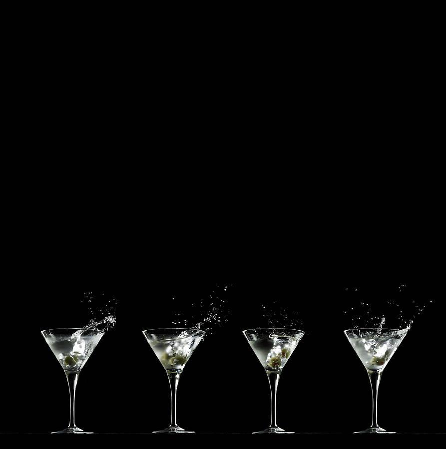Martini Splash Photograph by Monica Rodriguez