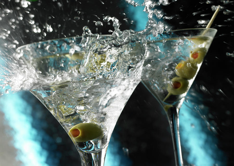 Martini Wild Splash Photograph by Triton21